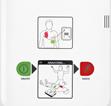 Le défibrillateur - Simplicité